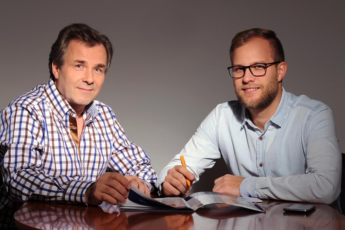 Klaus Lochmann und Alexander Lochmann