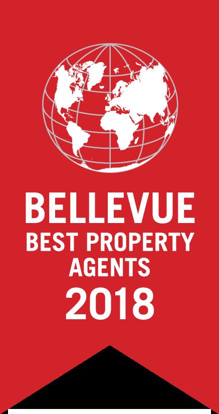 Bellevue Best Property Agents 2018 - AKZENT Finanz- und Immobilienservice GmbH